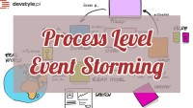 Process Level Event Storming – Wielka Piguła Wiedzy